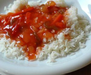 Гарнир рис в мультиварке рецепт