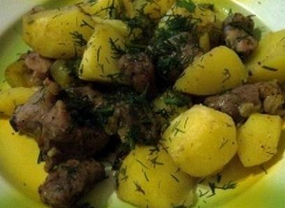 Свинина с картошкой в мультиварке рецепты с фото