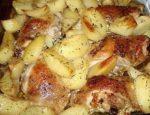 Окорочка с картошкой в мультиварке рецепт с фото