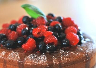 Пирог с малиной в мультиварке рецепт с фото
