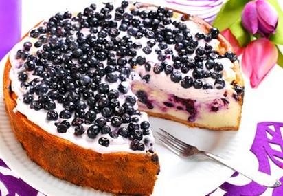 Пирог с черникой в мультиварке рецепты с фото