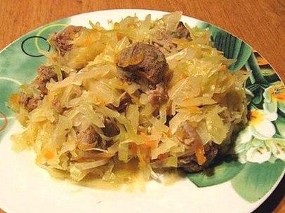 Солянка из капусты в мультиварке рецепт с фото