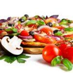 Пицца с грибами в мультиварке
