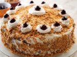 Бисквитный торт в мультиварке рецепт с фото