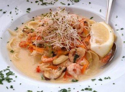 Суп с креветками в мультиварке рецепты с фото