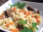 Рис с грибами в мультиварке рецепты с фото