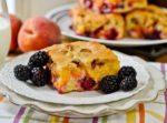 Пирог с ягодами в мультиварке рецепты с фото